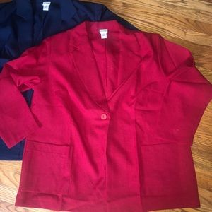 Collection of 3 Lane Bryant Blazers Size 26